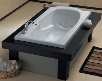 Mckenzie 12 Jet Whirlpool Drop In Tub