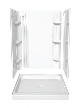 Maax 32/36/42 Inch Square Acrylic Shower Base