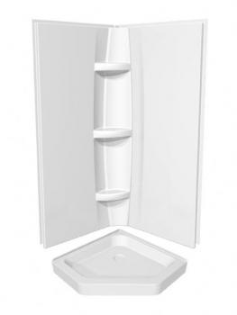 Maax 36/38/40/42 Inch Neo Angle Acrylic Shower Base