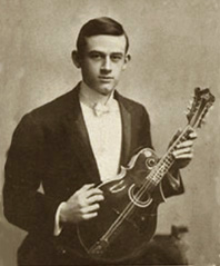 In 1906, at 20 years of age, Loar was performing professionally with an unusual Gibson three-point F2 mandolin that had no lower body point. During this period he was a member of the Fisher Shipp Concert Company whose members included Loar, Fisher Shipp, Etta Goode Heacock, and Louis G. Karnes.