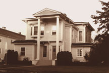 When Loar was working in Kalamazoo, he lived in this 2-story home at 315 Woodward.
