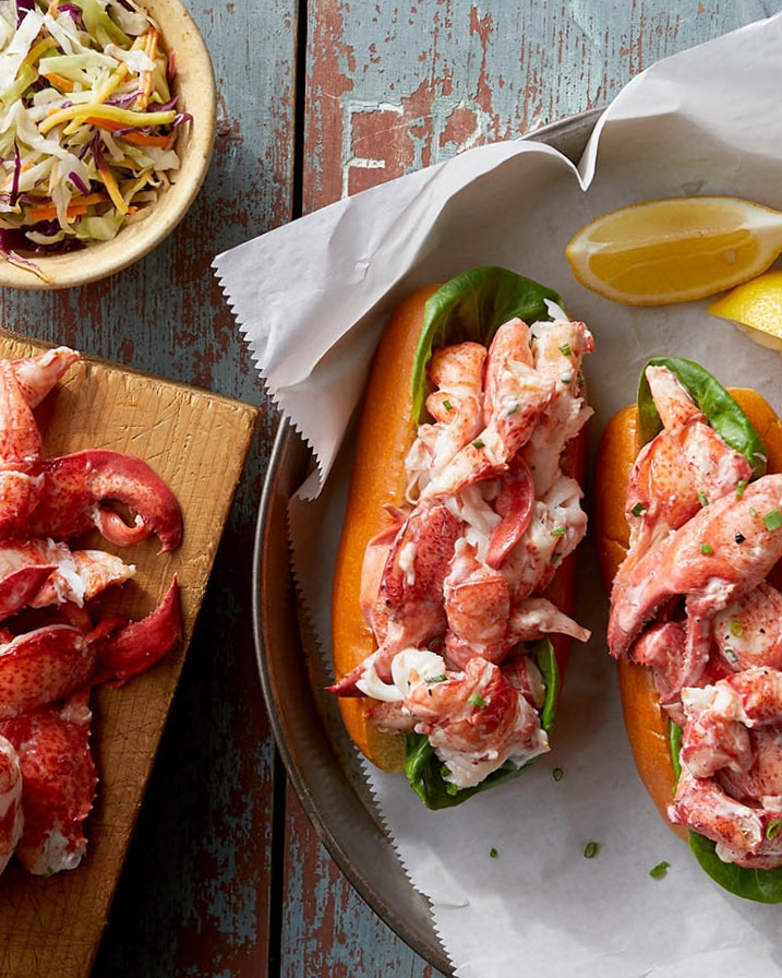 Fresh cooked Maine lobster meat shipped nationwide, by Ready Seafood, Portland, Maine