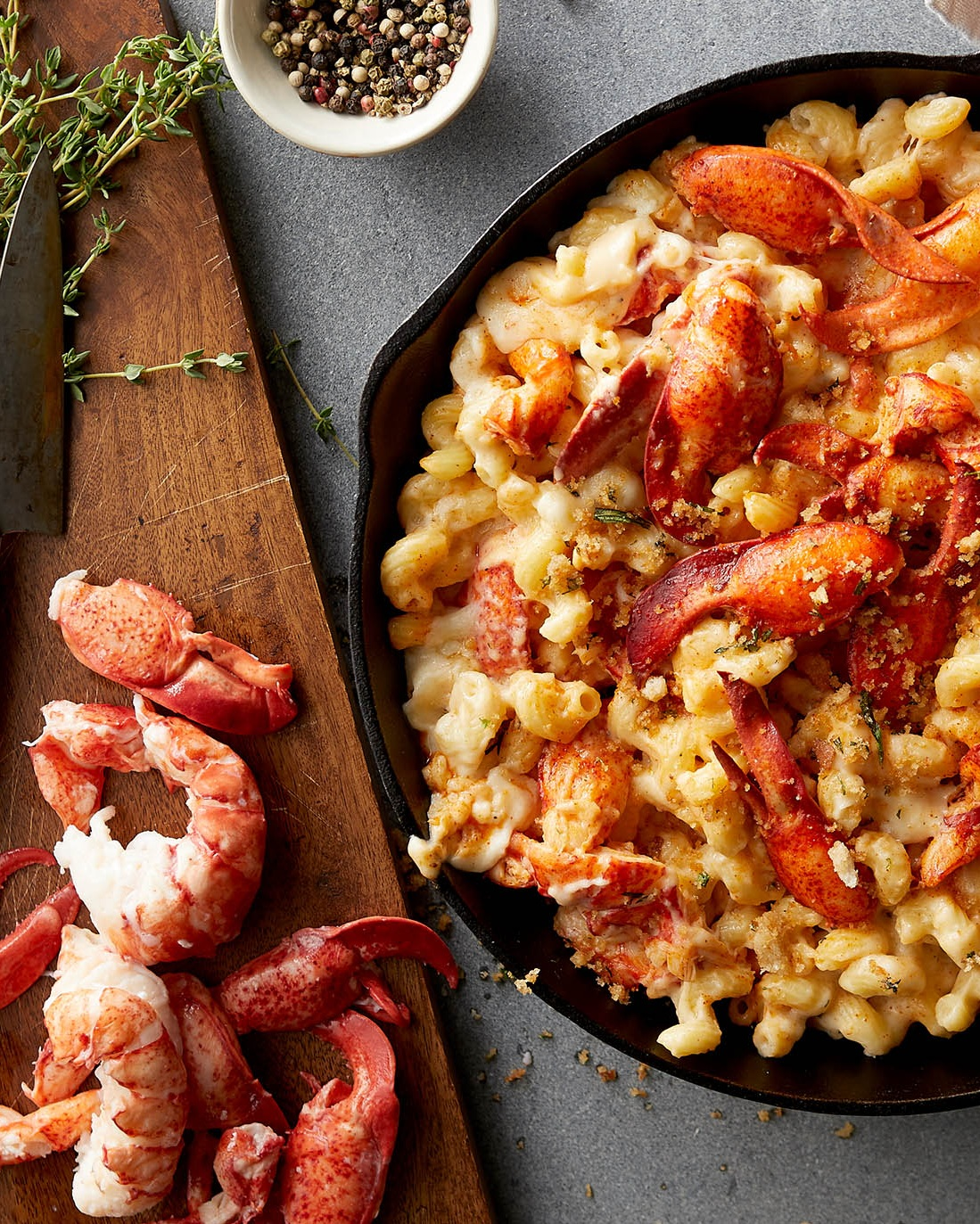 Frozen, wild-caught Atlantic lobster meat shipped nationwide, by Ready Seafood, Portland, Maine, perfect for lobster Mac & Cheese and other hearty dishes.