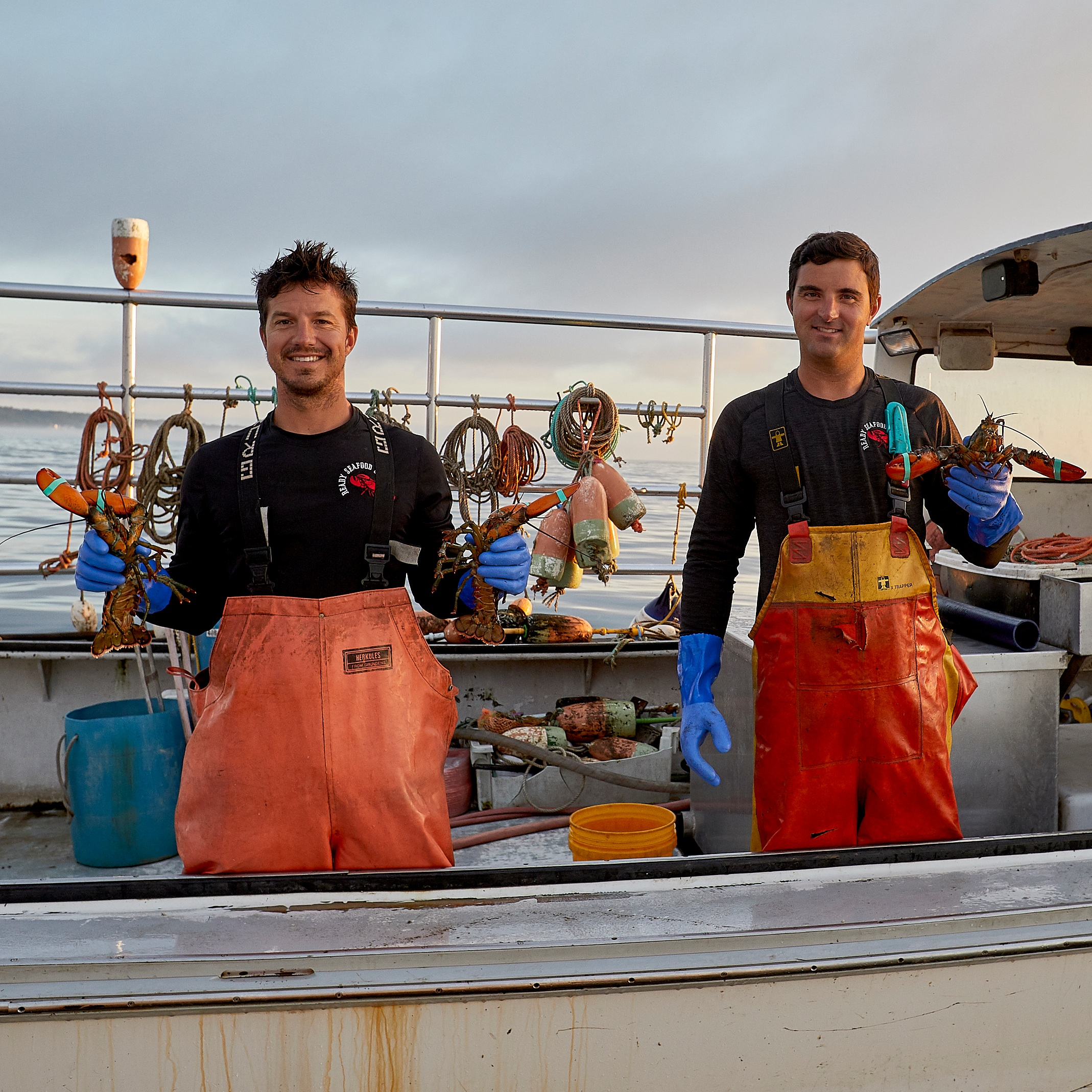 John and Brendan Ready, founders of Ready Seafood, today