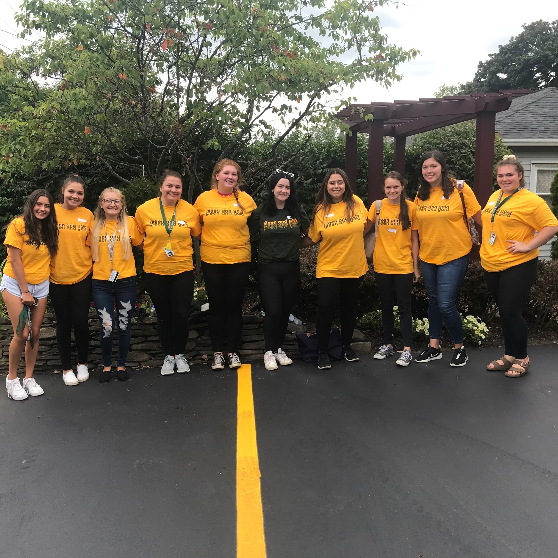 Thank you to the students from Brockport Day of Service for volunteering at our office. It was a delight to have you here!