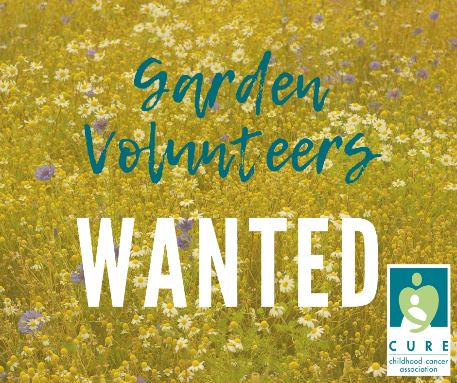 We need help with our Julie Roberts Children's Memorial Garden! Sign up for a week to adopt the garden this summer and lovingly care for it in memory of the sweet children we've lost. Sign up here:  https://www.signupgenius.com/go/70a0e44acaa2da6fd0-garden