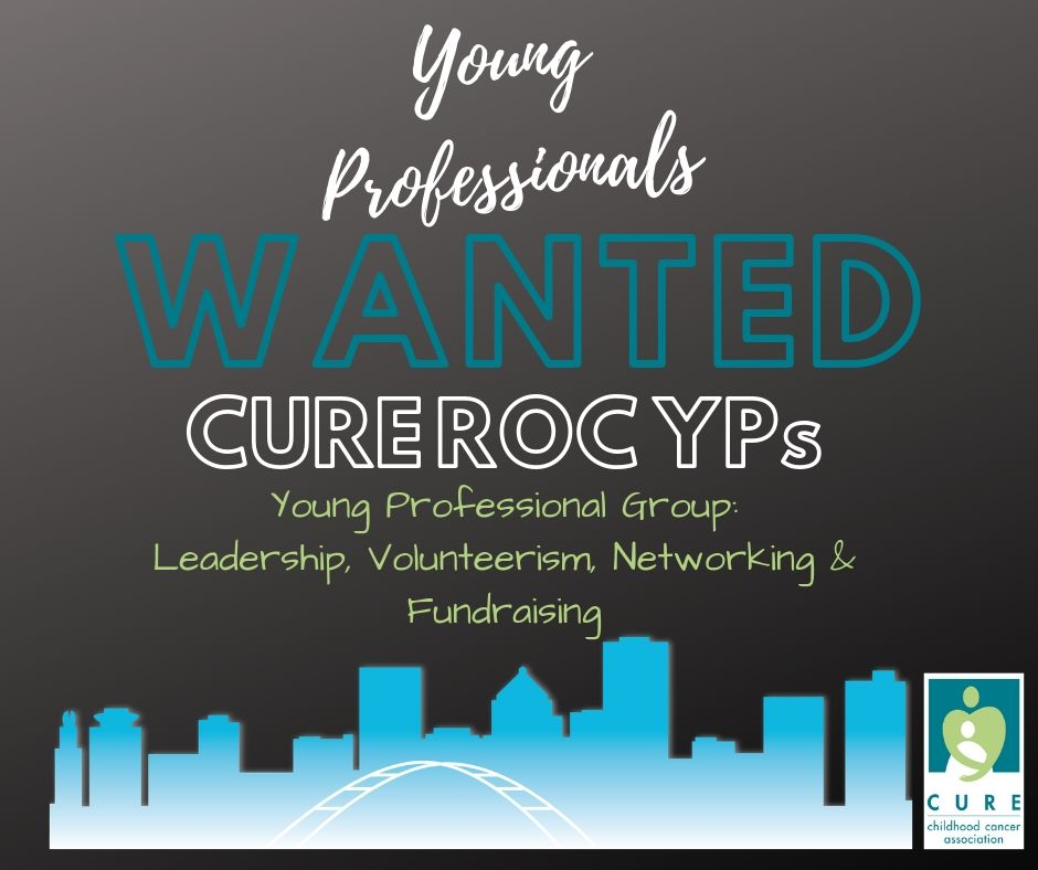 Email Brittany Charles in you are interested in learning more about CURE's new Young Professional Group! charlebc11@gmail.com