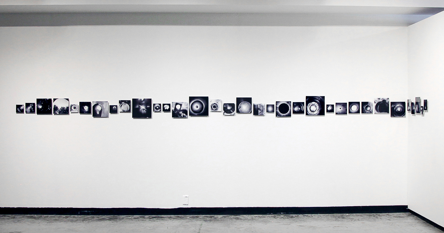 Eyes to the Sky , installation shot, Women and Their Work Gallery, Austin, TX, 2018