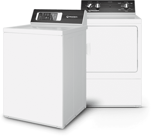 Speed Queen - No other laundry equipment is built tougher to last longer. We have worked with this supplier for over 35 years!