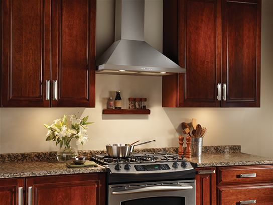 Broan - Broan is North America's largest producer of residential ventilation products such as range hoods, bath fans and indoor air quality products.