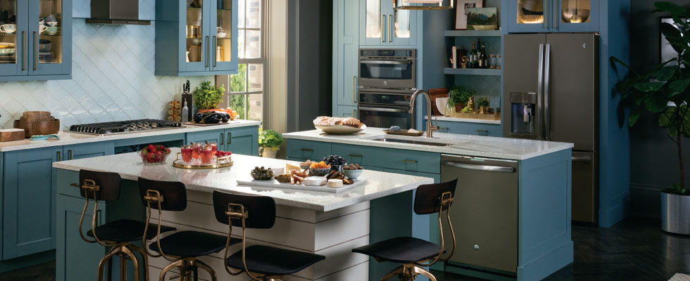GE - GE appliances answer real-life needs. Define trends. Simplify routines. And upgrade the look and feel of the living space.