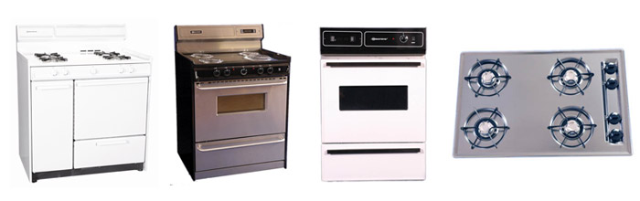 Brown - Brown ranges and cooktops. Tried and true workhorses with a track record of over seventy years that your grandma would be proud of.