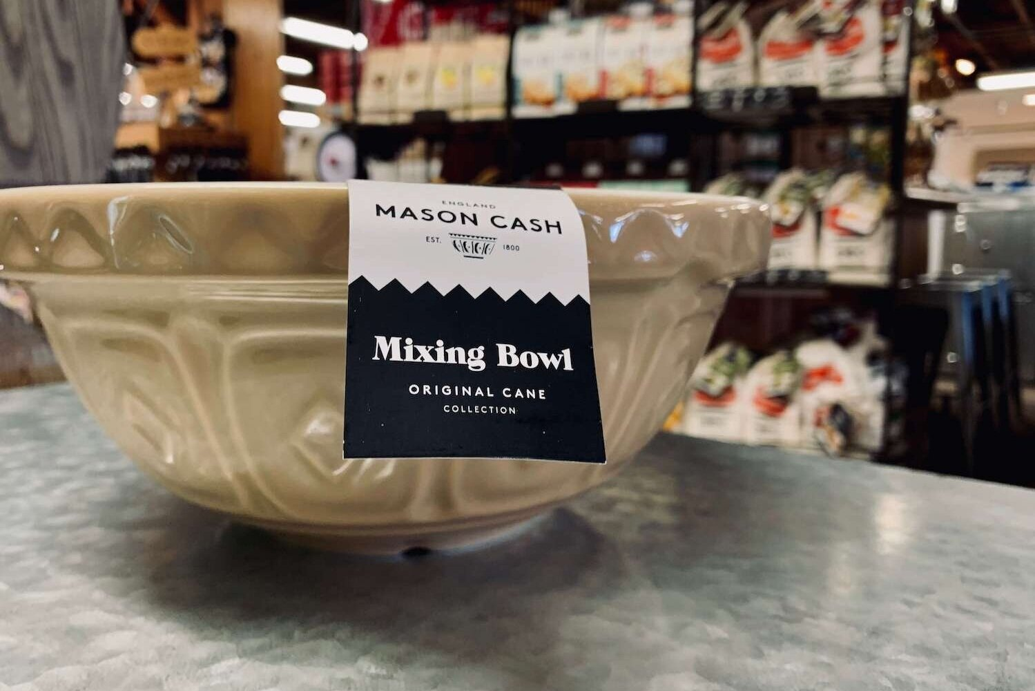 Mason Cash Bowls - The design of the bowl has endured the test of time and has become something of a design classic. In fact, the design has barely altered since then, which is why the brand is still renowned for its innovative, classic kitchenware today.