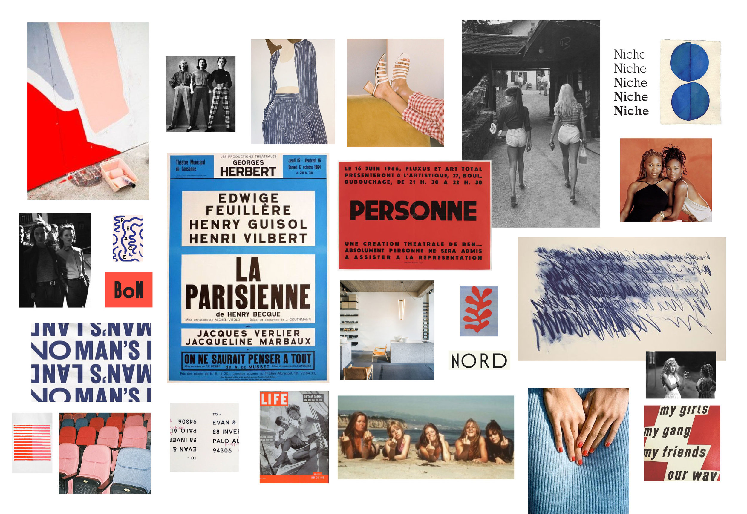 MOODBOARD. ALL FOUND IMAGES.