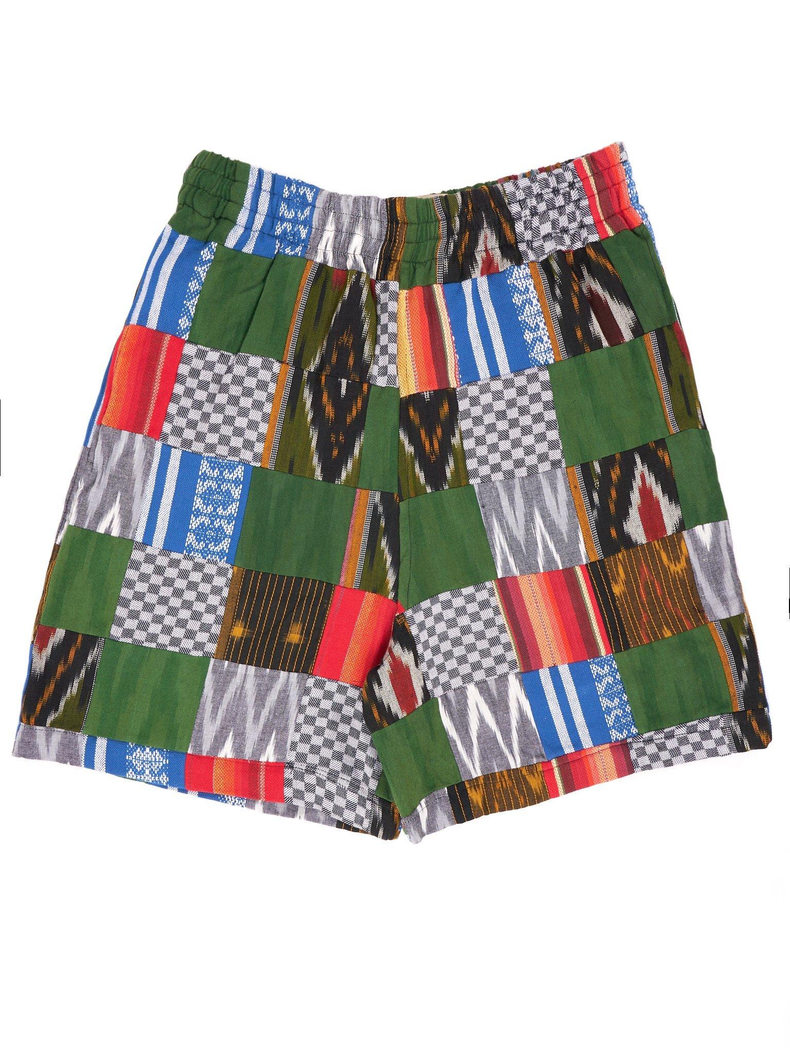 ENSÉ Patchwork Shorts1.jpg