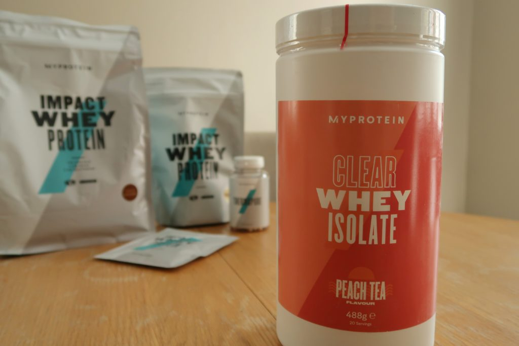 Peach Team Clear Whey Isolate. It's Juicy