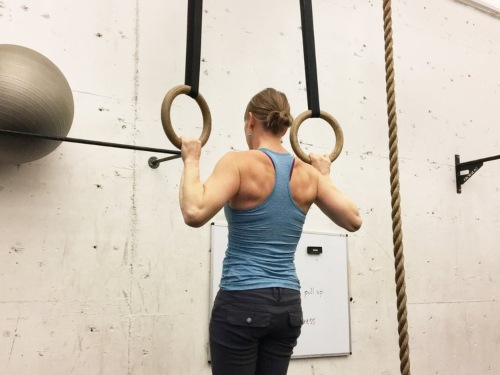 Ring Pull Ups (Advanced)