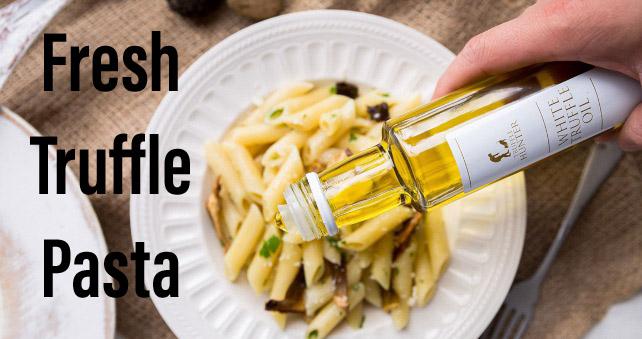 Fresh truffle pasta
