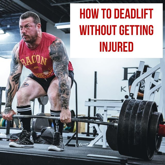 "Safety is always a concern when exercising, but most people stray away from the deadlift specifically because it is known to ""cause"" injury to the low back. ⠀ Deadlifting often gets the blame for causing back pain and low back injuries, but this also comes with a lack of understanding of the movement. ⠀ When setting up properly, for your given height, limb length, Q-angle, and pre-existing conditions, deadlifts can strengthen the low back and hip complex to a point never dreamed of. ⠀ 💪Mix it up to find the right movement for you 💪 ➖➖➖ Changing up the Stance ➖➖➖⠀ 1️⃣Conventional ⠀ ⠀ 2️⃣Sumo ⠀ ➖➖➖ Changing up the Bar ➖➖➖ ⠀ 1️⃣Standard straight bar ⠀ ⠀ 2️⃣Trap Bar ⠀ ⠀⠀ ➖➖➖ 🏋️‍♂️⏩🥗Follow @FitnesstoDiet_Official👈 ⠀For all things fitness, nutrition, training, and product reviews. ➖➖➖ ⠀ ⠀ ⠀ Full article here: https://denim-cornet-rynn.squarespace.com/blog/how-to-deadlift-without-getting-injured . . . . . #FitnessToDiet #Fitness #Instafit #Getfit #Fitspiration #Fitnessaddict #bodybuilding #cleaneating #dietfood #fitfamuk #beastmode #fitfam #fitnessforlife #motivation #training #workoutday #food #foodie #gym #health #healthyfood #healthylifestyle #yogafam #yogalife #nutrition #deadlift #deadliftform #strengthtraining #deadliftday #deadlifting"