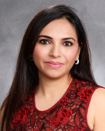 Dr. Preetinder Sandhu - Dr. Sandhu is more than your average suburban Chicago dentist. She has the perspective and insight that comes from being raised in a family of doctors. Dr. Sandhu is thrilled to be working in the same community where she and her husband are raising their two children.