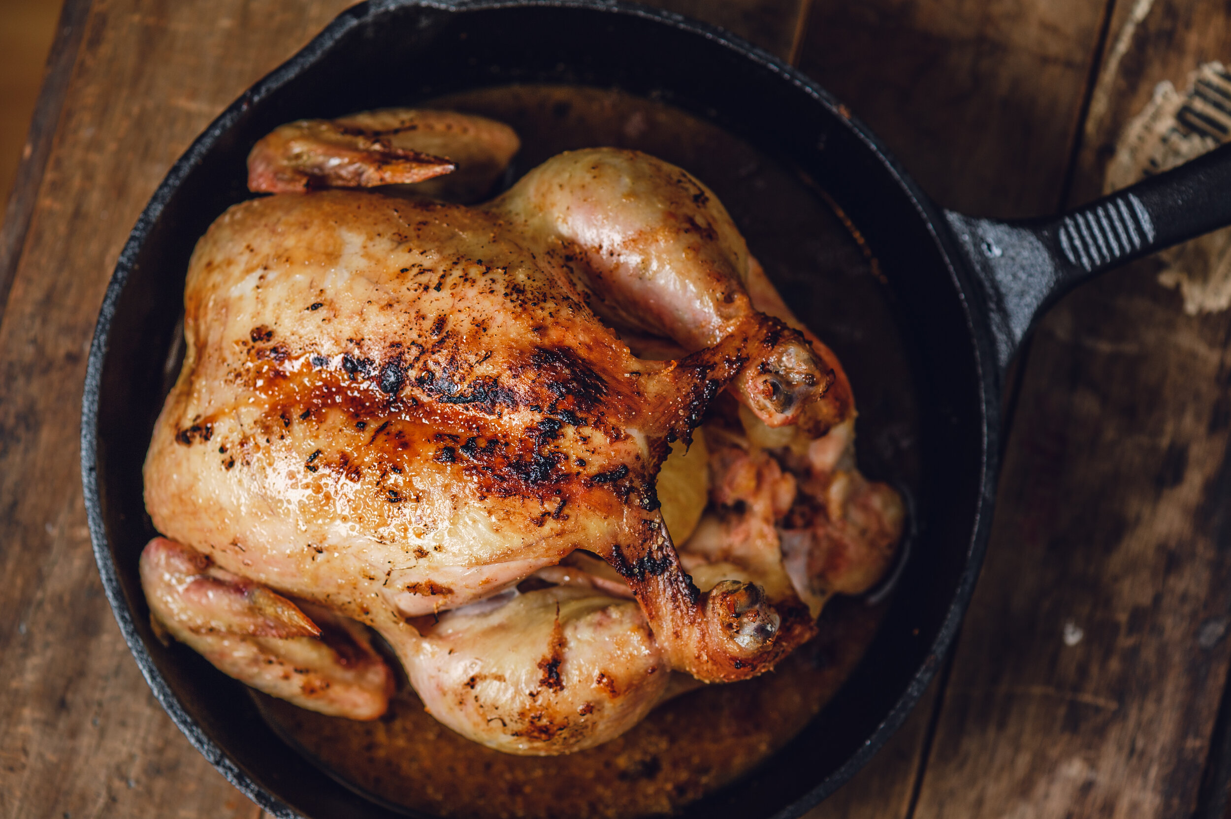 The Greatest Roast Chicken Recipe for the Snow