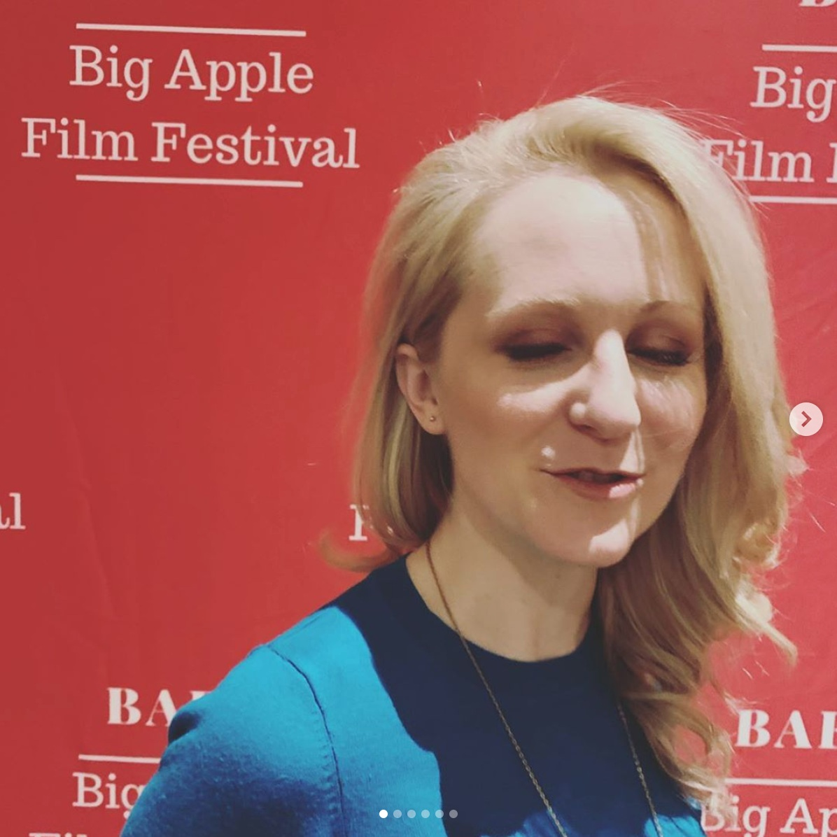 Funny Faces in the Big Apple! - Loved seeing our feature film SNOWFLAKE at the Big Apple Film Festival. Clearly I need to up my step-and-repeat game…