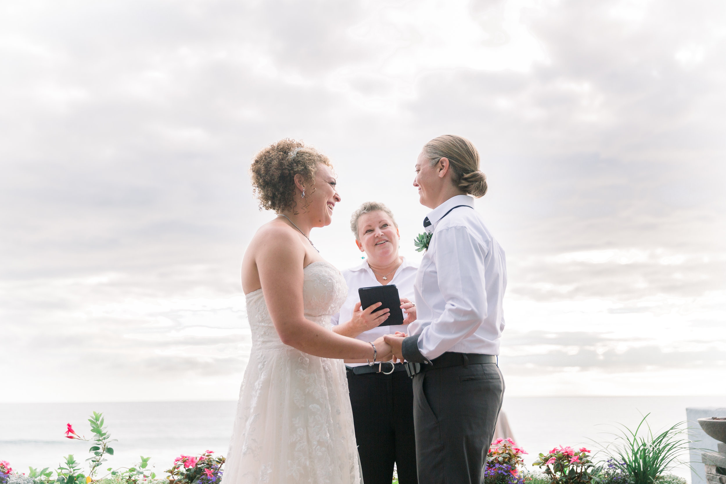 Image by    Vallentyne Photography   , Shenee + Lainey, private residence in Oceanside
