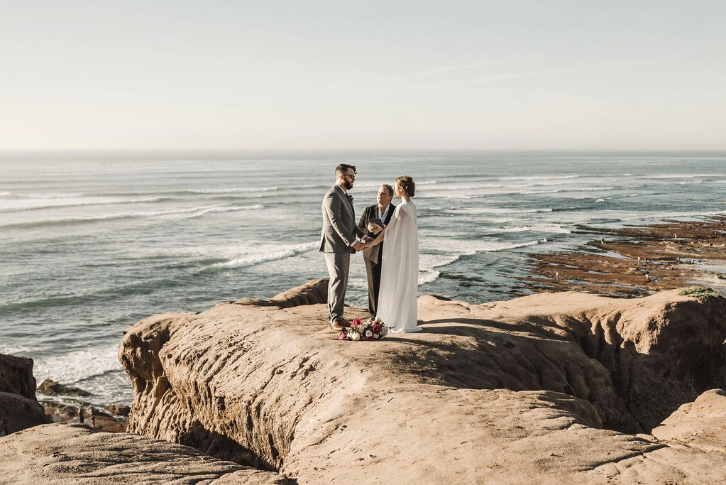Image by    Madeline Barr Photography   , Lauren + Nick, Sunset Cliffs, San Diego
