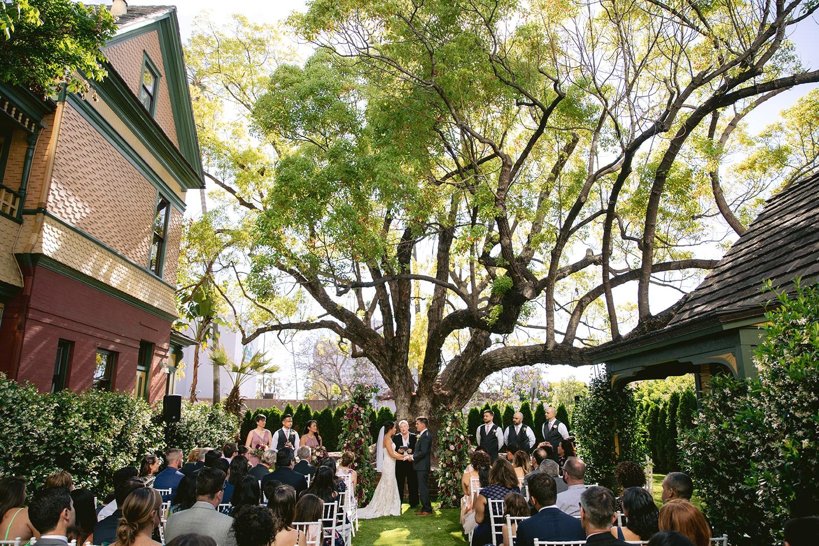 Image by    Walter Wilson Studios   , Annie + Paul, Britt Scripps Manor, San Diego