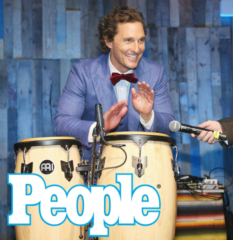 Matthew McConaughey Plays the Bongos in Texas, Plus Taylor Swift, Michael B. Jordan & More