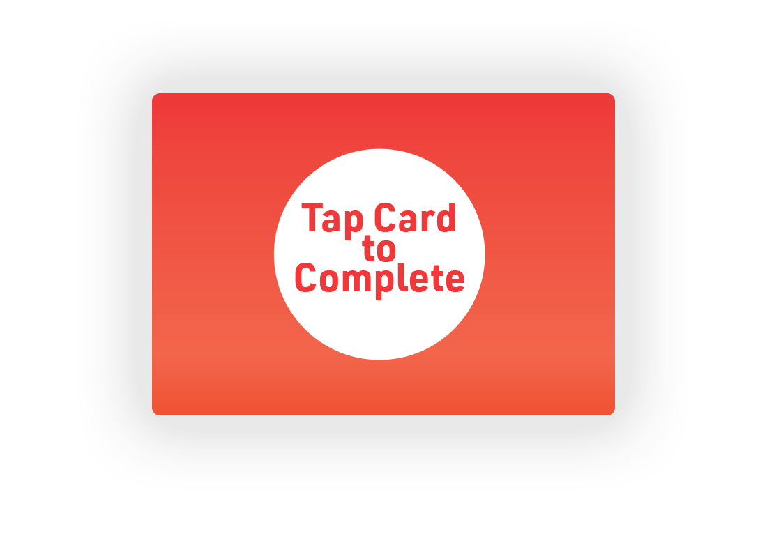 7.  Final screen: Tap SmarTrip to complete and enter Metro.