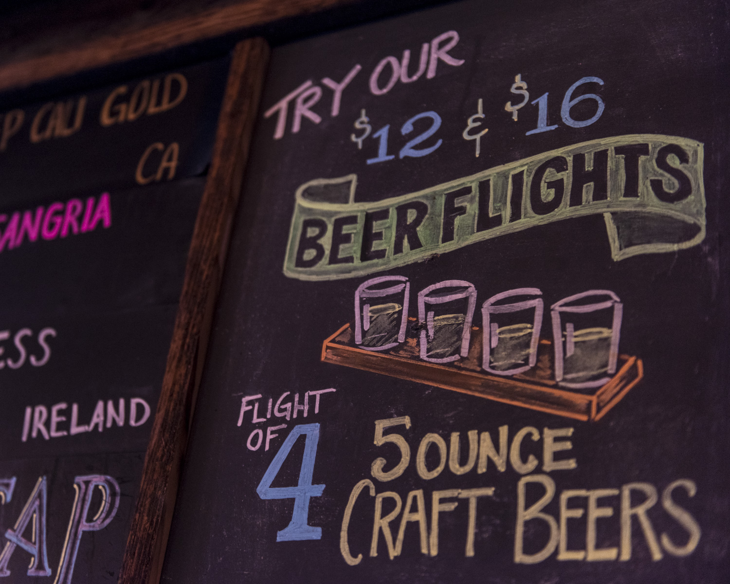 Try Our Beer Flights!