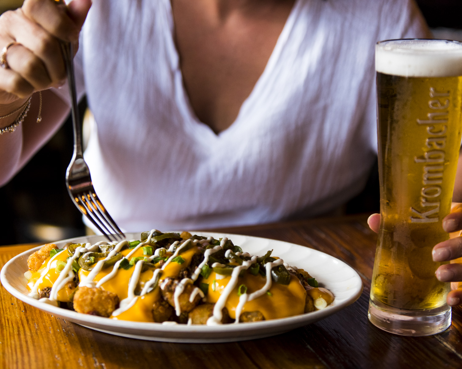 In The Kitchen - Hungry? We've got your back. See what we're serving to pair perfectly with your beer.