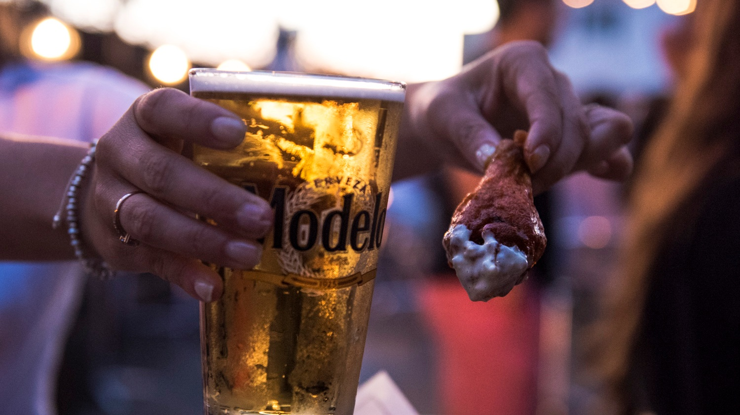 Beer and Chicken Wings? Perfect Combo.