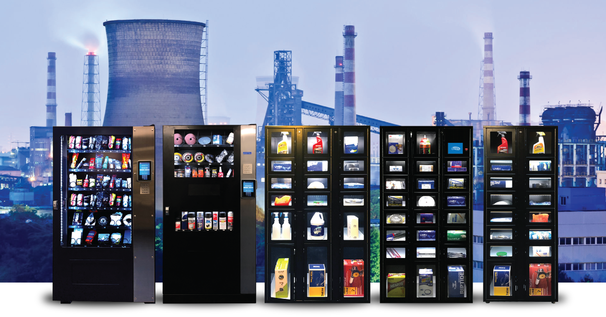 Inventory Control machines for varying uses