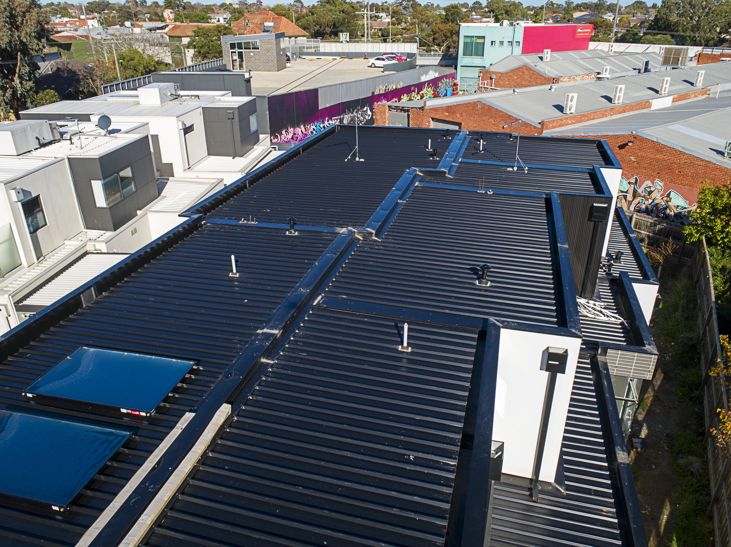 Stand Out Among The Crowd - Metal Roofing is more easily adjusted to your liking. Providing several colours and shades, all of them BOLD, DK Roofing is here to make your property the envy of the block.