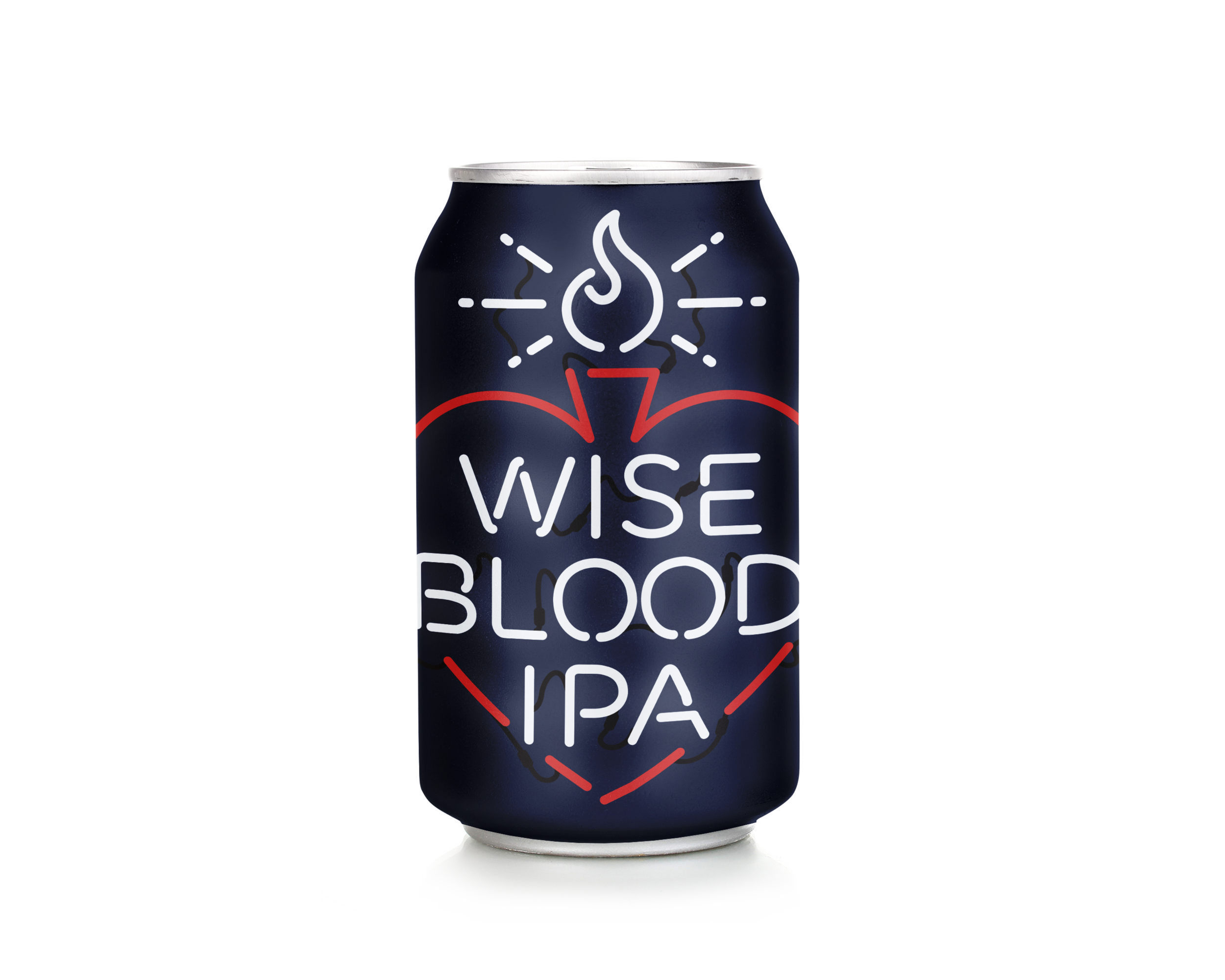 Wise Blood IPA - India Pale Ale6.8% ABVOur long-awaited India Pale Ale bursts with lush tropical fruit flavors and hints of apricot, melon and bright, sweet orange. Wise Blood IPA starts with a vibrant hop aroma and finishes dry and clean with lingering notes of pine and citrus.Suggested food pairings: Wings, fish & chips, Tomme-style cheese, brunch (the citrus picks up nicely), burgers.
