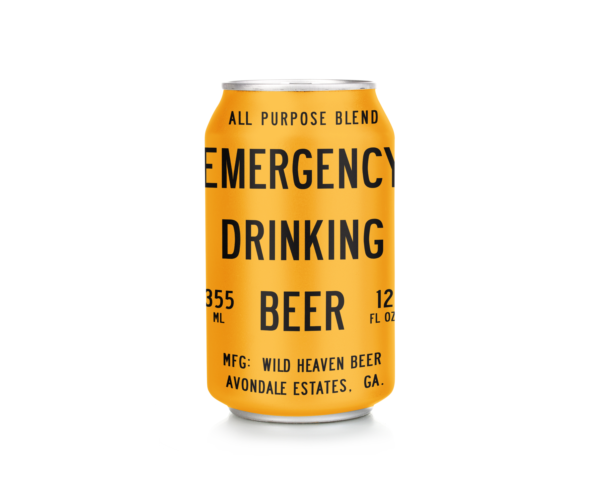 Emergency Drinking Beer - Pils-style Session Ale4.4% ABVA one-of-a-kind session beer reminiscent of a crisp pilsner married with a traditional gose. Brightness and complexity come from additions of citrus zest, Portuguese sea salt and lemongrass.
