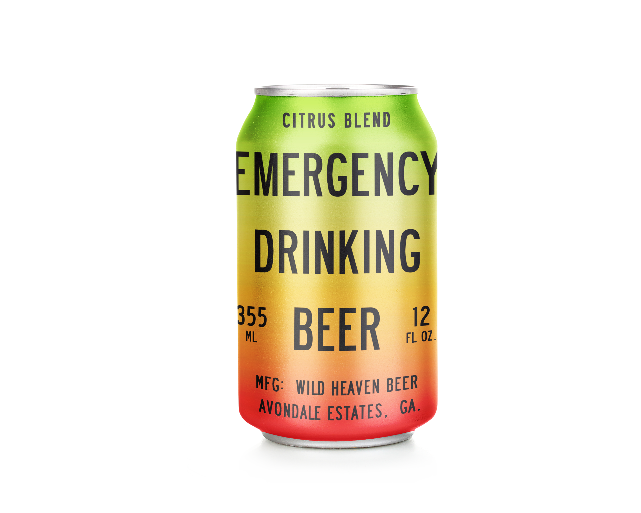 """Emergency Drinking Beer Citrus Blend - 4% ABVFruit BeerOur most popular beer, Emergency Drinking Beer plus juice from limes, white grapefruit and Ruby Red grapefruit. Not a traditional """"winter"""