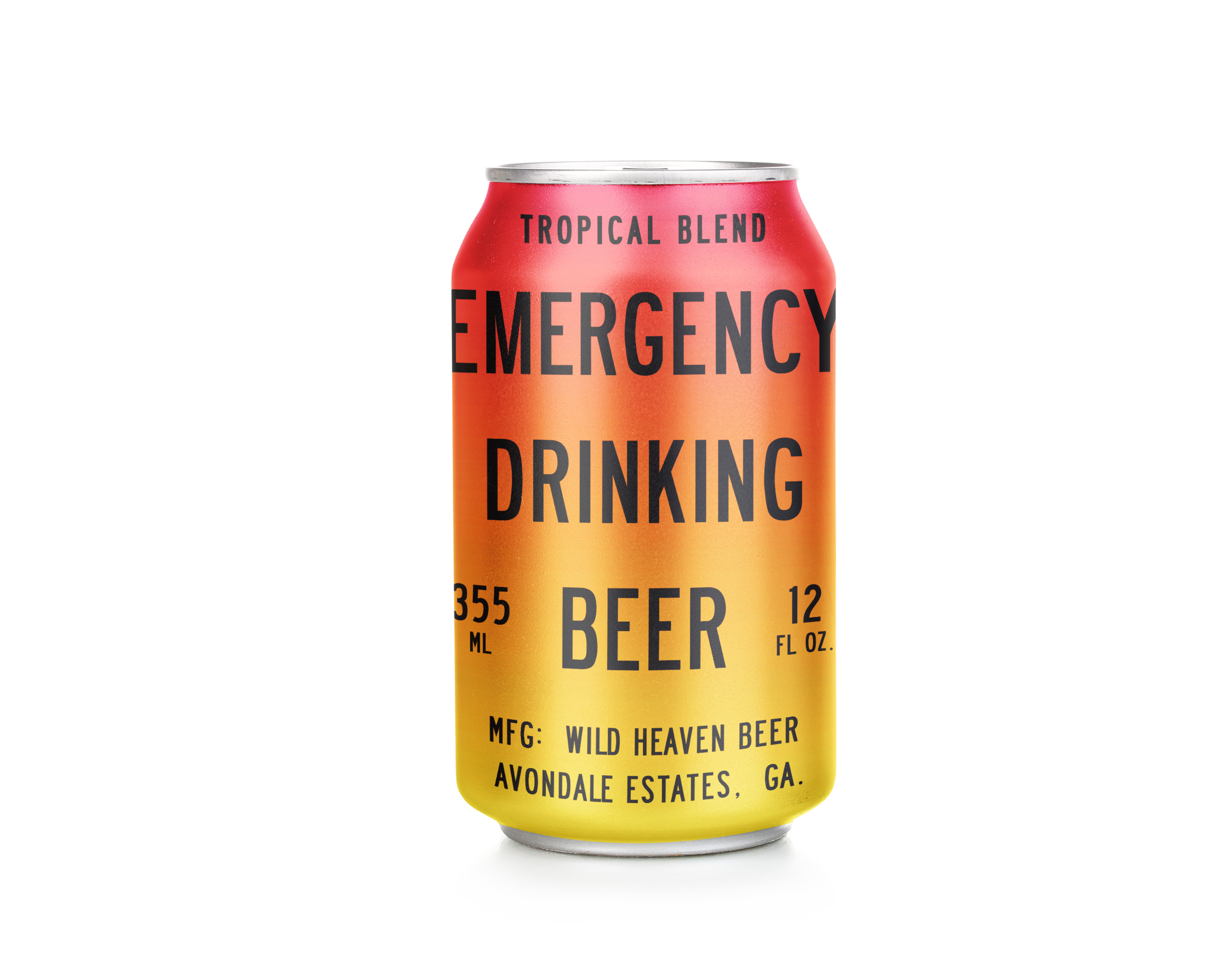 Emergency Drinking Beer Tropical Blend - 4% ABVFruit BeerAs the weather warms in spring, we blend Emergency Drinking Beer with fresh purees of guava, passionfruit and pineapple. A taste of the islands without excess sweetness. Available March through May.