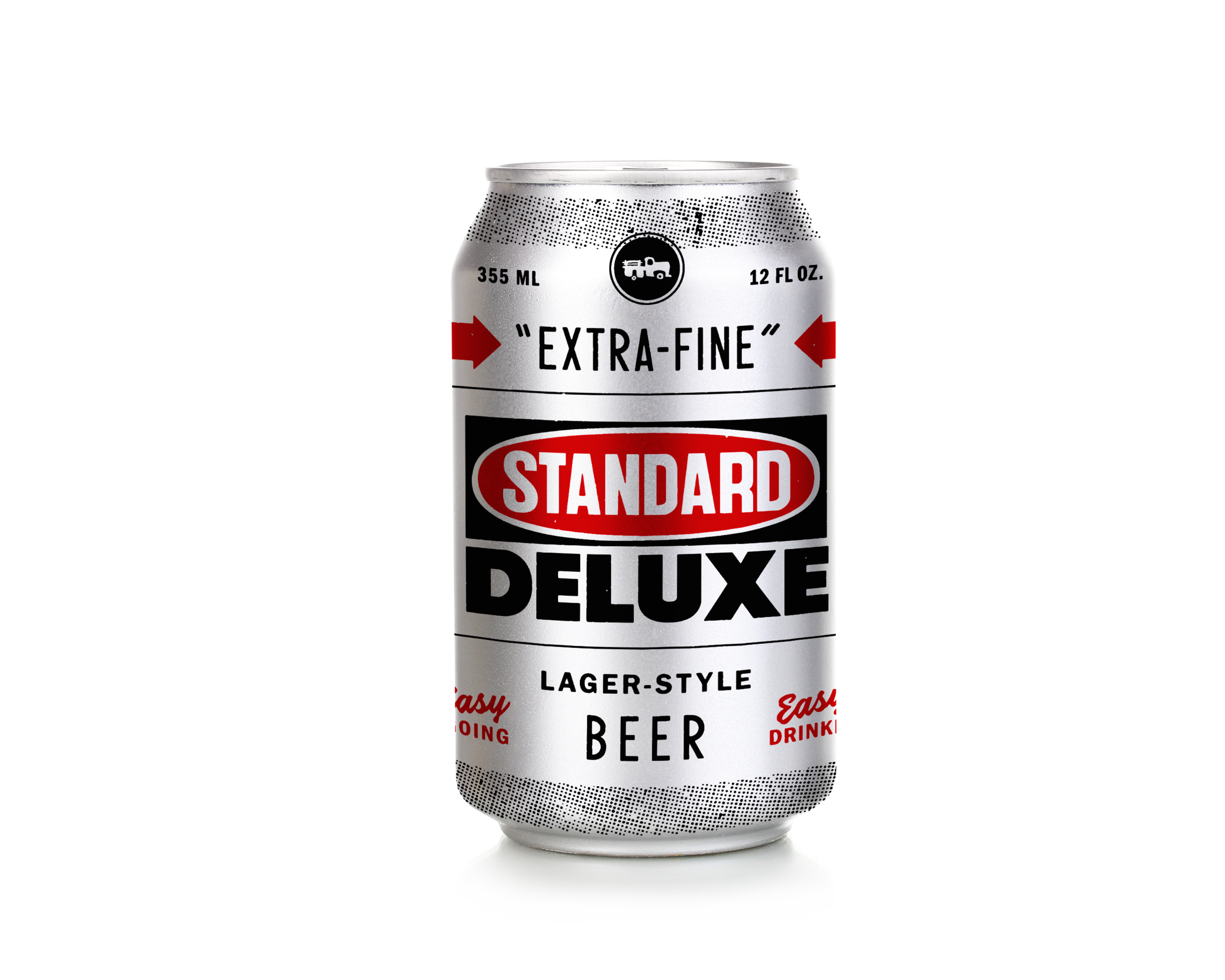 Standard Deluxe Lager - German-style Lager5% ABVAn easygoing, easy-drinking German-style lager designed to be your go-to for all seasons — a beer that taste's like beer in all the right ways. Inspired by our friends at Standard Deluxe, Waverly, Alabama's extra-fine screen print shop & live music venue.
