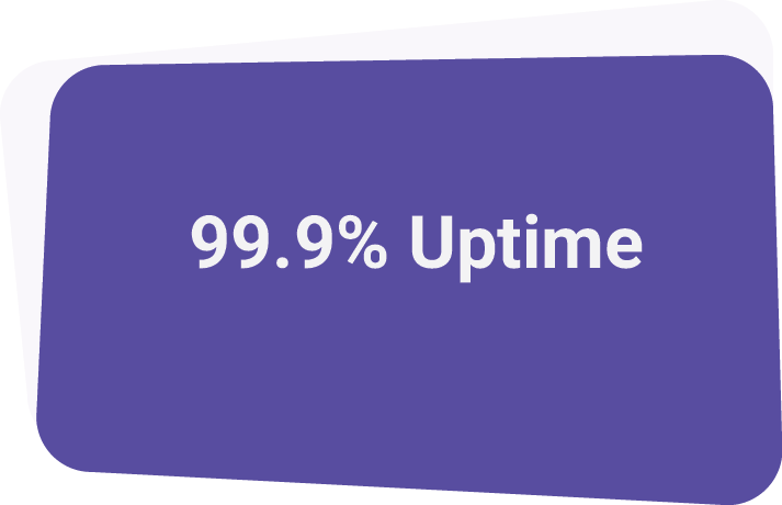 - In 2018 we had a virtually perfect delivery rate, at 99.9%