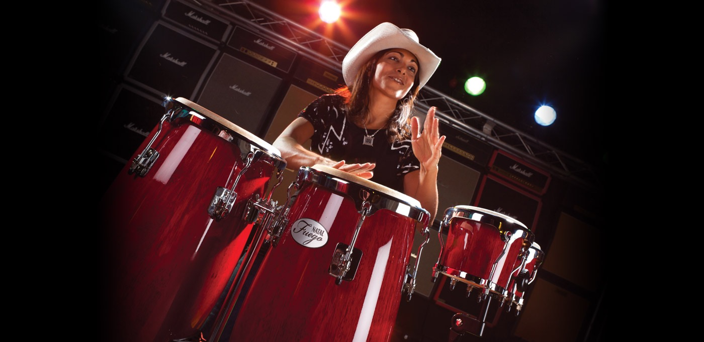 Music - Sudha has been a percussionist for over 25 years, performing with a number of international artists including The Spice Girls, Dido, Faithless and Kylie Minogue.