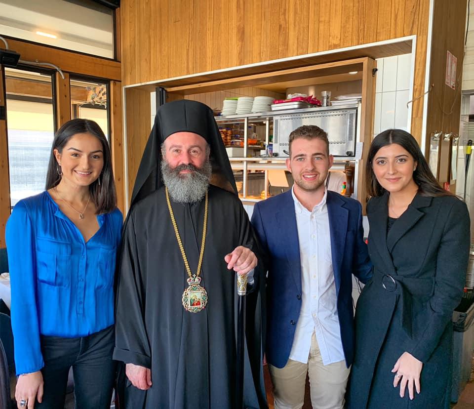 Meeting Archbishop Makarios