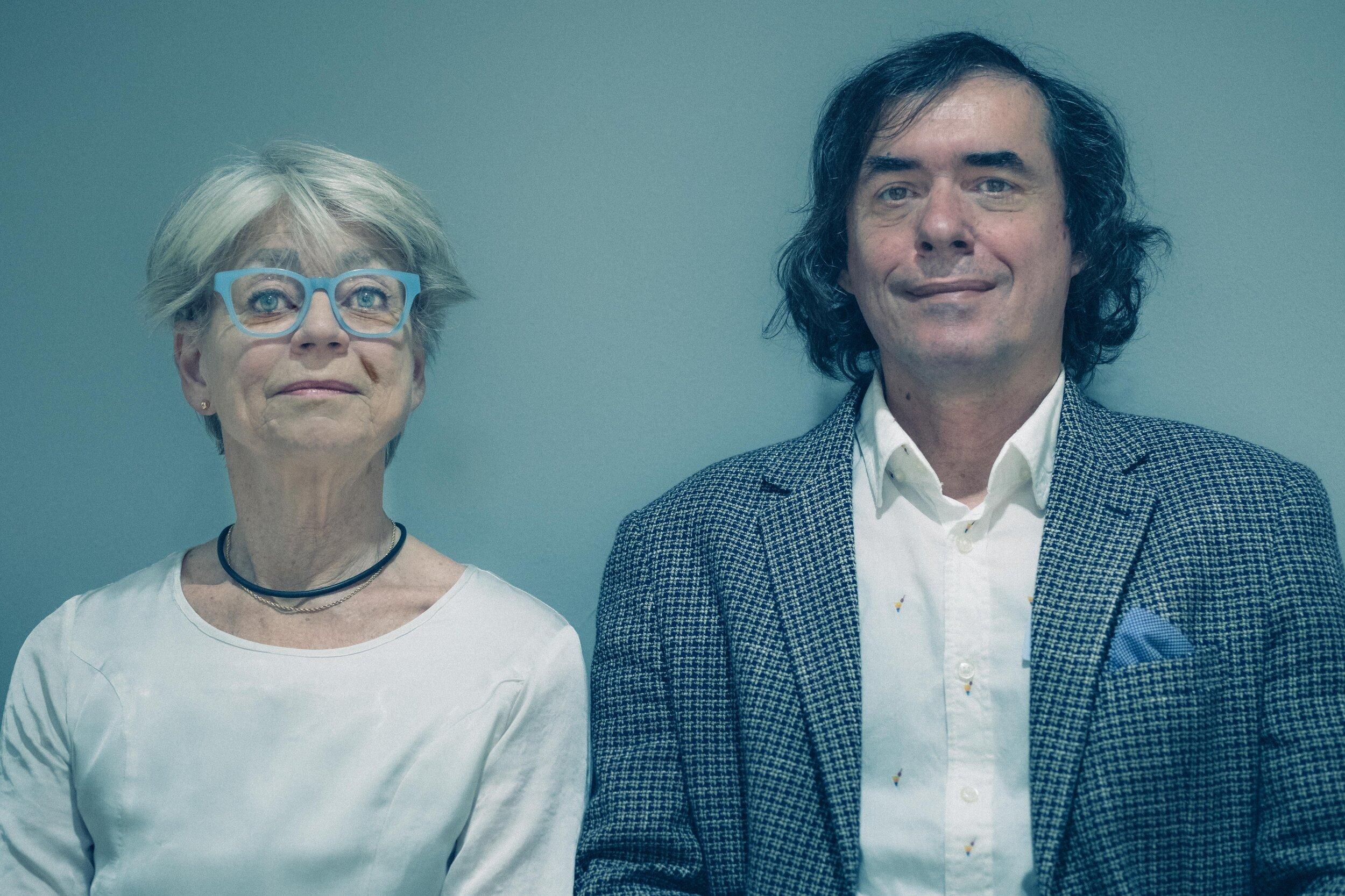 Inger Johansson & Mircea Cartarescu, translator & author