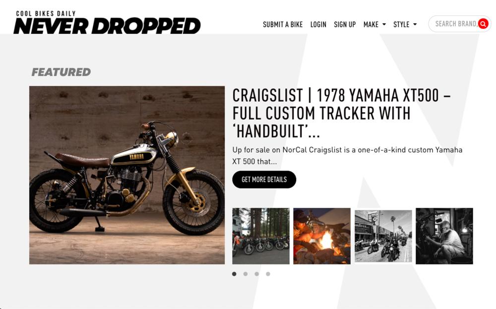 NeverDropped — Drake Martinet