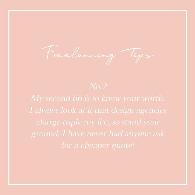 〰️ No.2 〰️ Always know your worth. Don't allow someone else to tell you what prices you should charge. If anyone needs help knowing what to charge I'm happy to help!