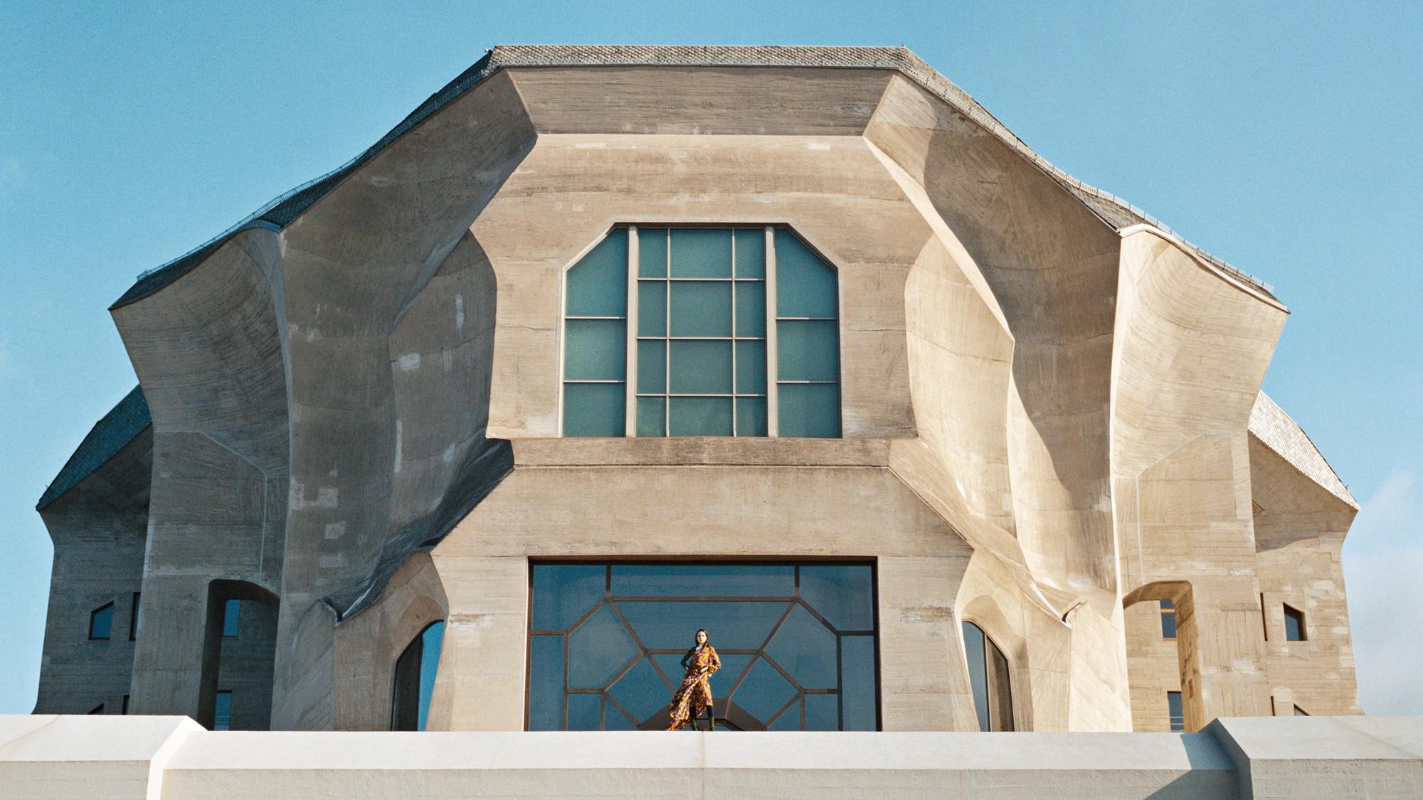 Garage Magazine  - A Fashion Story Set In Switzerland's Most Eccentric Building