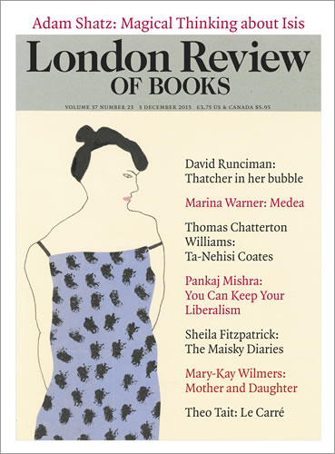 London Review of Books - Loaded Dice: Between the World and Me by Ta-Nehisi Coates