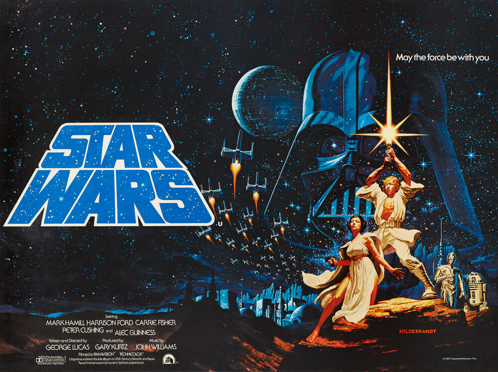 Star Wars Episode Iv A New Hope 1977 Vitri Art Beautiful Art For Your Beautiful Life